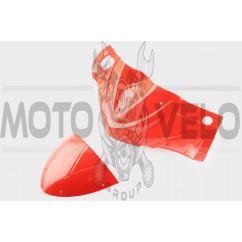 Пластик Zongshen STHORM/ FADA 15 передний (голова) (красный) KOMATCU
