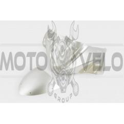 Пластик Zongshen STHORM/ FADA 15 передний (голова) (серый) KOMATCU