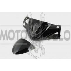 Пластик Zongshen STHORM/ FADA 15 передний (голова) (черный) KOMATCU