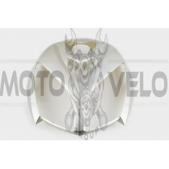 Пластик Zongshen STHORM/ FADA 15 передний (клюв) (серый) KOMATCU