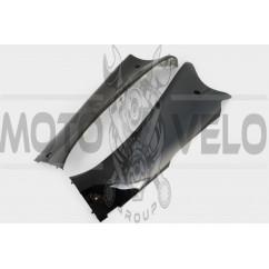 Пластик Zongshen STHORM/ FADA 15 нижний пара (лыжи) (черный) KOMATCU