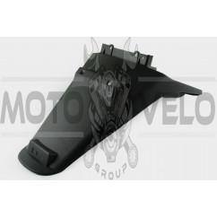 Пластик Zongshen F1, F50 задний (хвост) KOMATCU