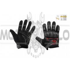 Перчатки SCOYCO (mod:MC-23, size:M, черные, текстиль)