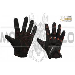 Перчатки SCOYCO (mod:MC-10, size:L, красные, текстиль)
