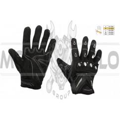 Перчатки SCOYCO (mod:MC-10, size:M, черные, текстиль)