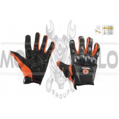 Перчатки SCOYCO (mod:MC-09, size:M, красные, текстиль)