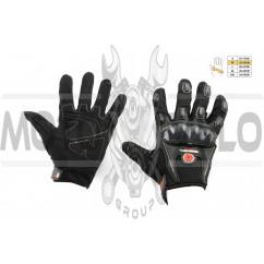 Перчатки SCOYCO (mod:MC-09, size:M, черные, текстиль)