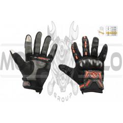 Перчатки   SCOYCO   (mod:MC-20, size:XL, красные, текстиль), пара