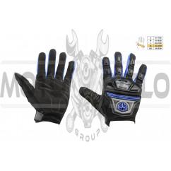 Перчатки SCOYCO (mod:MC-24, size:XL, синие, текстиль)