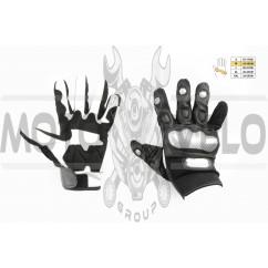 Перчатки SCOYCO (mod:MC-33, size:M, черные, текстиль)
