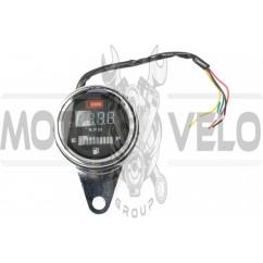 Тахометр выносной универсальный (цифровой, индикатор уровня топлива) KOMATCU