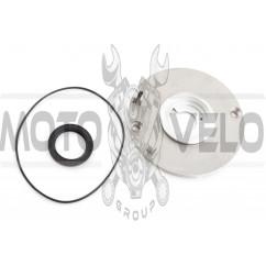 Крышка маслоотделительная Delta (115mm, +прокладка, сальник) ZZQ