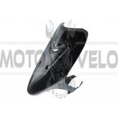 Пластик Yamaha JOG SA16 передний (клюв) (черный) KOMATCU