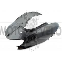 Пластик Yamaha JOG SA16 задняя боковая пара (черный) KOMATCU