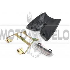Пластик Yamaha JOG SA16 задний (спойлер) KOMATCU