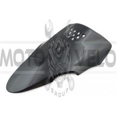 Пластик Yamaha JOG SA24 передний (клюв) (черный) KOMATCU