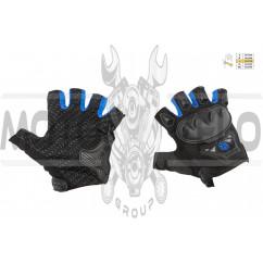 Перчатки без пальцев (mod:MC-29D,size:L, синие) SCOYCO