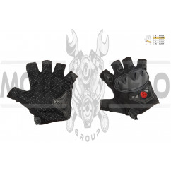 Перчатки без пальцев (mod:MC-29D,size:M, черные) SCOYCO
