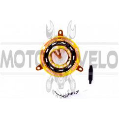 Накладка крышки генератора диодная (желтая) GJCT