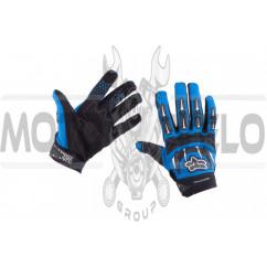 Перчатки FOX DIRTPAW (mod:027, size:L, синие)