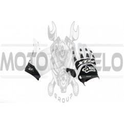 Перчатки FOX DIRTPAW (mod:028, size:L, бело-черные)