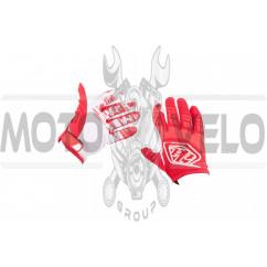 """Перчатки """"FOX"""" BOMBER (mod:055, size:XL, черно-красные)"""