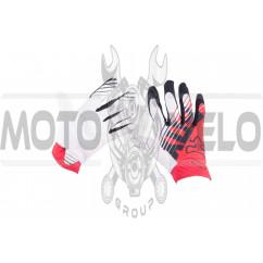 Перчатки DIRTPAW AIRLINE (mod:028, size:L, красно-белые) FOX