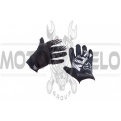 Перчатки DIRTPAW AIRLINE (mod:028, size:L, черные) FOX