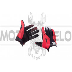 Перчатки DIRTPAW (mod:034, size:L, черно-красные) FOX