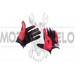 Перчатки DIRTPAW (mod:034, size:XL, черно-красные) FOX