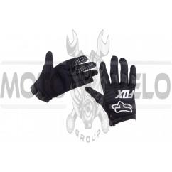"""Перчатки """"FOX"""" DIRTPAW (mod:030, size:M, черные)"""
