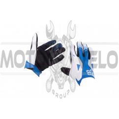 Перчатки DIRTPAW (mod:034, size:XL, черно-синие) FOX