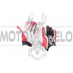 Перчатки DIRTPAW (mod:035, size:L, черно-красная) FOX