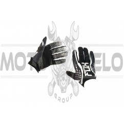 Перчатки DIRTPAW (mod:035, size:L, черно-белые) FOX