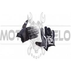 Перчатки DIRTPAW (mod:035, size:XL, черно-белые) FOX