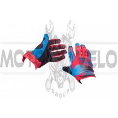 Перчатки DIRTPAW (mod:038, size:M, красно-синие) FOX