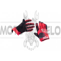 Перчатки DIRTPAW (mod:038, size:XL, красно-черные) FOX