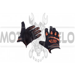 Перчатки DIRTPAW (mod:038, size:M, черно-оранжевые) FOX