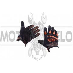Перчатки DIRTPAW (mod:038, size:XL, черно-оранжевые) FOX