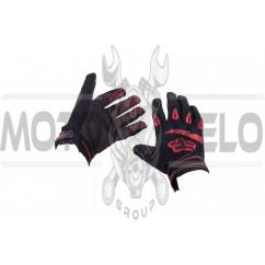 Перчатки DIRTPAW (mod:033, size:M, черно-красные) FOX
