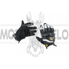 Перчатки TAICHI (size:M, черно-белые)