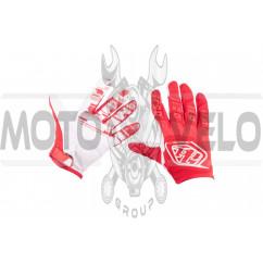 Перчатки TLD (mod:030, size:XL, красные)