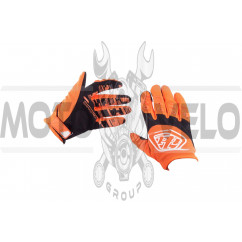 Перчатки TLD (mod:030, size:XL, оранжевые)