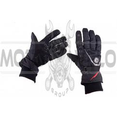Перчатки SCOYCO (size:L, черные, текстиль) (mod:1)