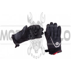 Перчатки SCOYCO (size:M, черные, текстиль) (mod:1)