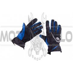 Перчатки SCOYCO (size:L, синие, текстиль)