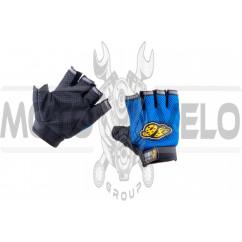 Перчатки без пальцев GO (size:XL, синие) 46