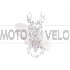 Пластик Yamaha GEAR передний (голова) (белый) KOMATCU