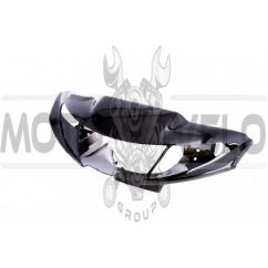 Пластик Yamaha NEXT ZONE передний (голова) (черный) KOMATCU