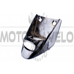 Пластик Yamaha JOG POSHE передний (клюв) (черный) KOMATCU